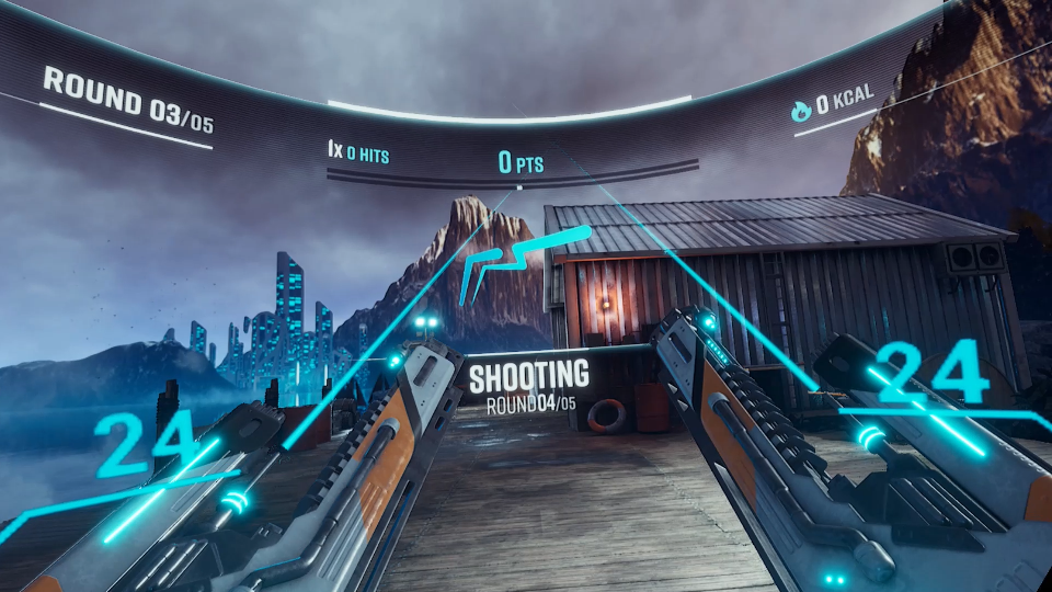 VIRO Shooting in game footage